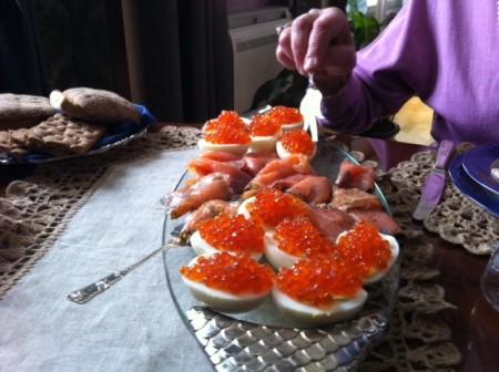 rysk kaviar stör