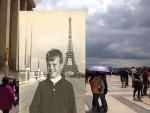 Framför Eiffeltornet 1964 och 1967