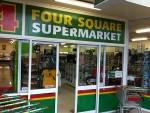 Foursquare supermarket
