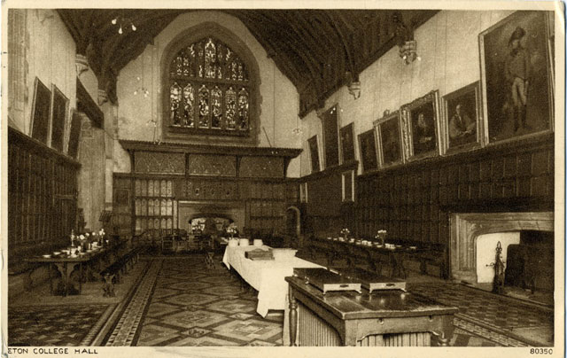 Eton College strax efter världskriget