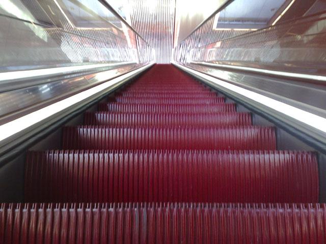 röda rulltrappan