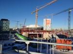 Premiär för bron till Arenastaden