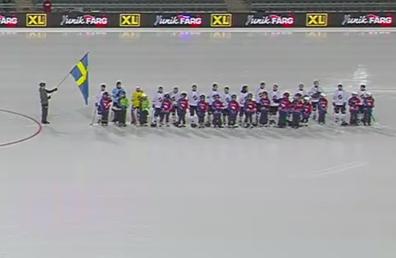 bandy på isen