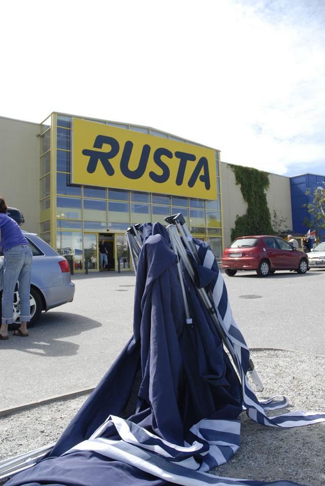 Rustas varor rasar och varumärket rostar