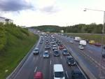 Ett utsatt trafiksystem skapar bilköer
