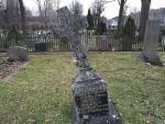 En gravsten på sniskan