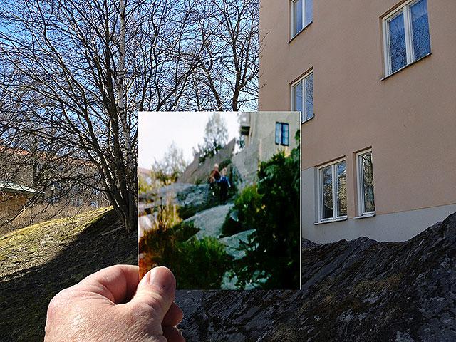 Det jättehöga berget i Solna