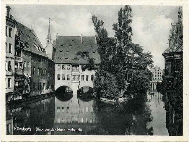 Massa frimärken från Nürnberg