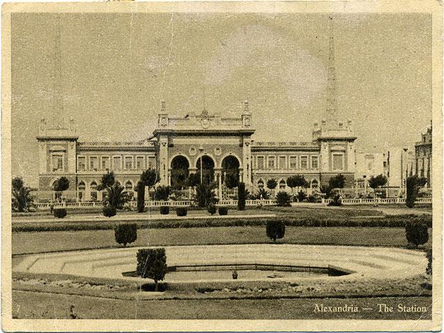 Löfte från stationen i Alexandria