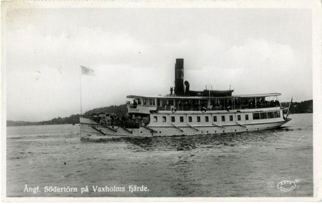 Ångbåten som gick till Öregrund