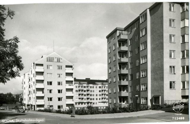 Skytteholmsvägen 24 i Solna