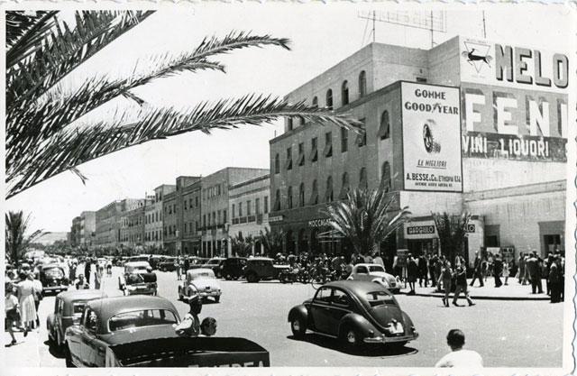 När rövarna härskade längs vägen mot Asmara