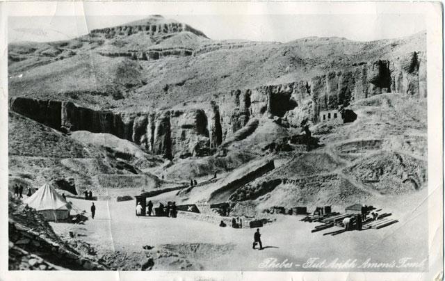 Utgrävningar i Egypten