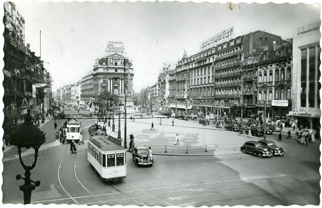 Bryssel strax efter kriget