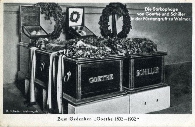 Goethe men inte Schiller