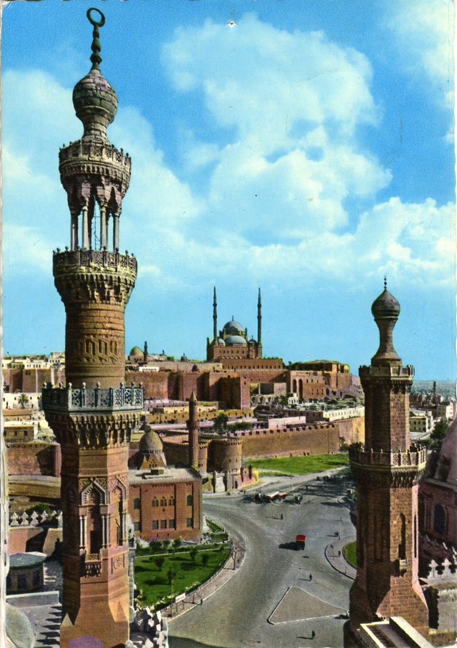 Stämplat i Cairo