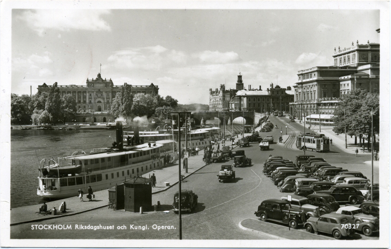 Riksdagshuset och kungliga operan