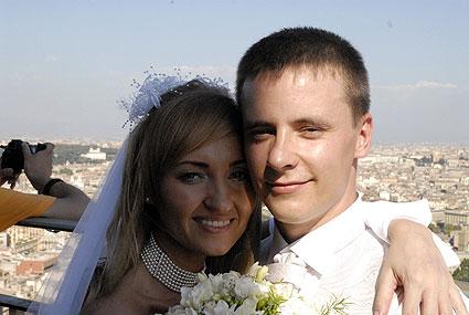 Latvian wedding in Rome
