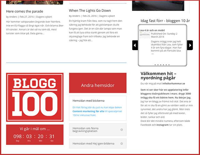 Bloggen är min verkstad – så här går det till