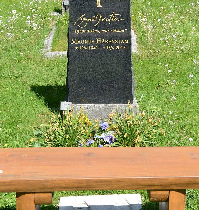 Magnus Härenstams gravsten