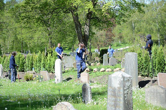 kyrkogårdsarbetare
