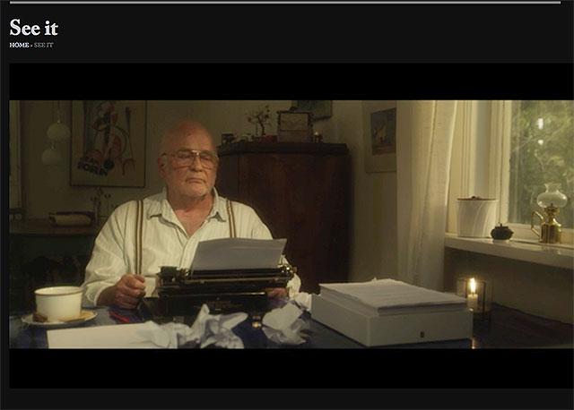Min skrivmaskin är filmstjärna