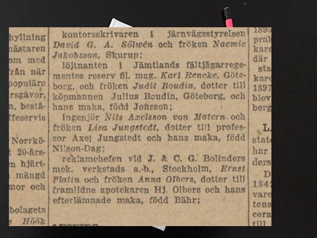 Söndag den 22 juni 1919. Hemma rönte vi det hjärtligaste mottagande.