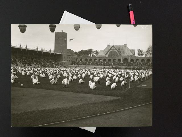 Tisdag den 26 september 1916. Får se hur det blir till söndag.