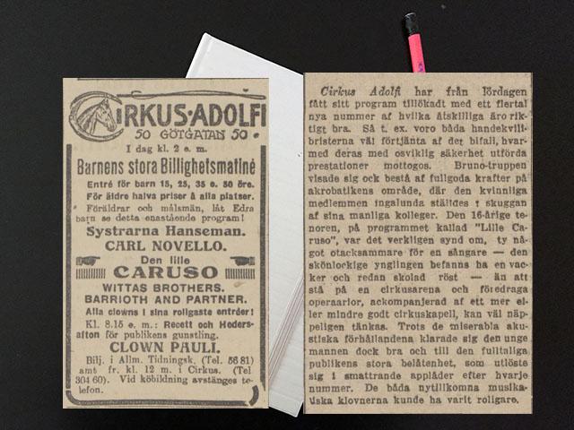 Fredag den 25 februari 1916. Skottdag. Och jag, som inte passade på!