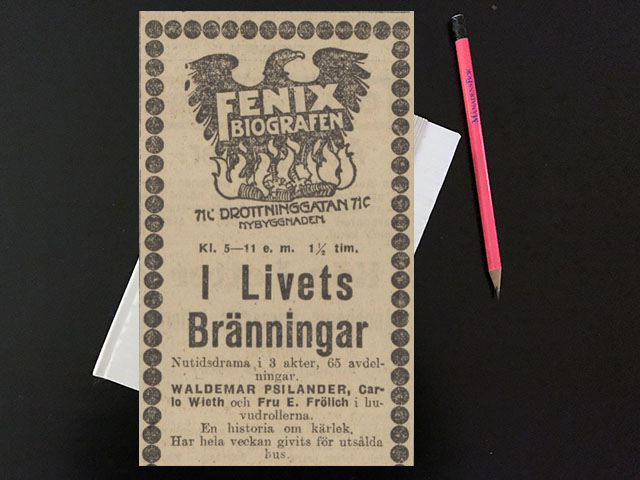Saturday March 11 1916. I may borrow Annas darkblue silkgown.
