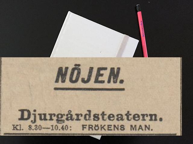 Måndag den 3 juli 1916. Här väntade mig ett brev från Niels.