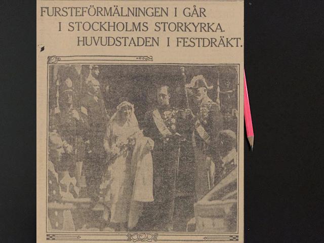 Torsdag den 22 maj 1919. En sådan enastående vacker anblick det var!!