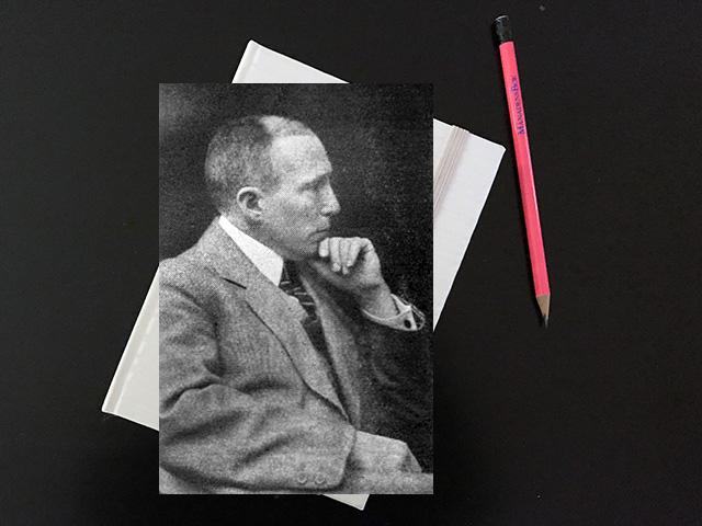 Torsdag den 7 augusti 1919. Grebst kan verkligen skriva vackert.