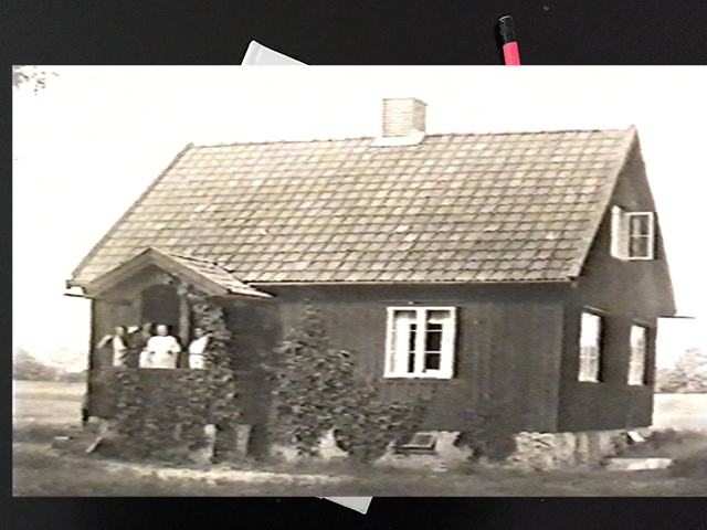 Måndag den 8 november 1920. Vi ha äntligen lyckats få bostad!