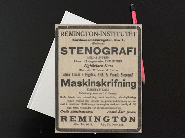 Måndag den 28 februari 1916. Tänkte att sitta och läsa för doktorn.