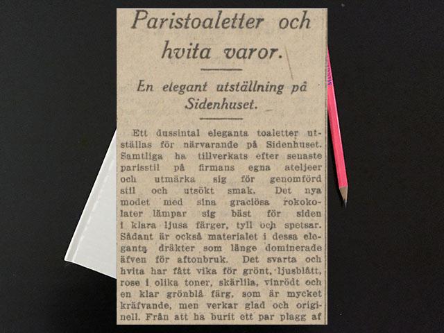 Måndag den 7 februari 1916. Förlovade unga herrar kan ju vara trevliga också.