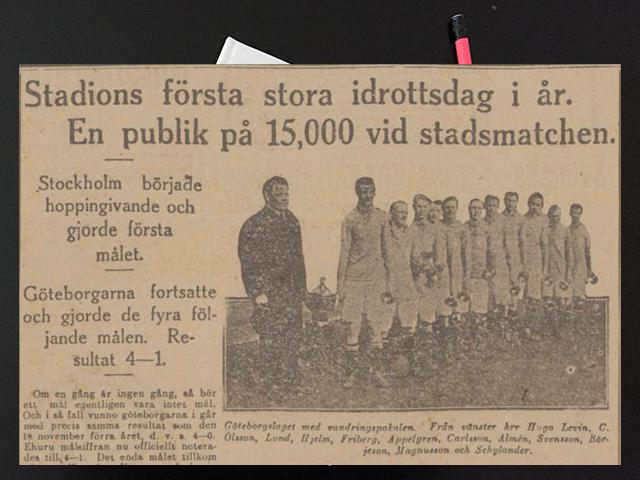 Söndag den 5 maj 1918. Må tro, att jag fick dopp!