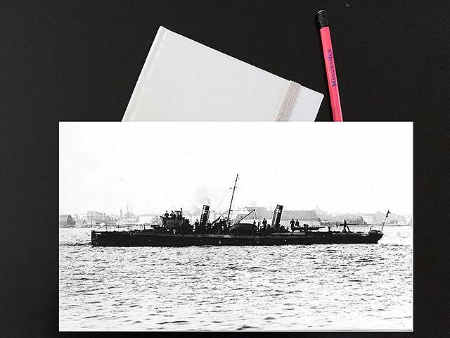 Söndagen den 16 augusti 1914. Det var alldeles fullt av flottister på Kalvsund.