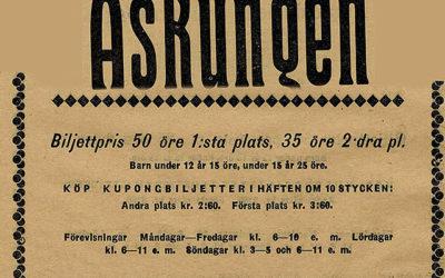Askungen – Drama i tre akter i regi av Paul Otto.