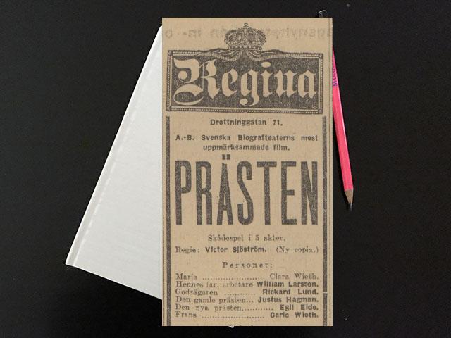 Lördag den 15 april 1916. Ska du röck köttet ur näva på mä ditt hälvöt!