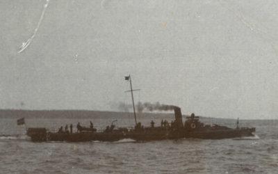 Judit håller reda på krigsskeppen 1914.