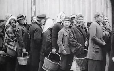 Livsmedelskö i Göteborg 1915