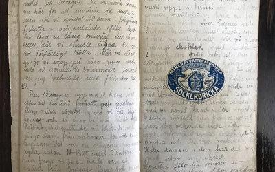 Skolresan till Dalarna sommaren 1912.