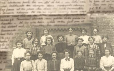Kära gamla flickor! Judits klassbrev juli 1918.