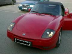 röd sportbil