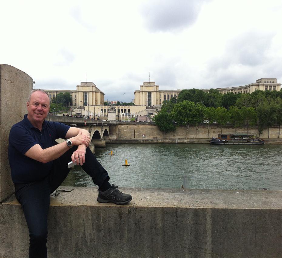 jag i Paris