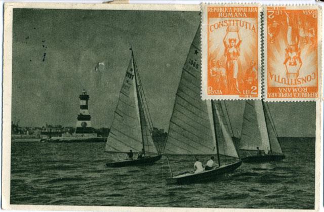 båtar i Rumänien