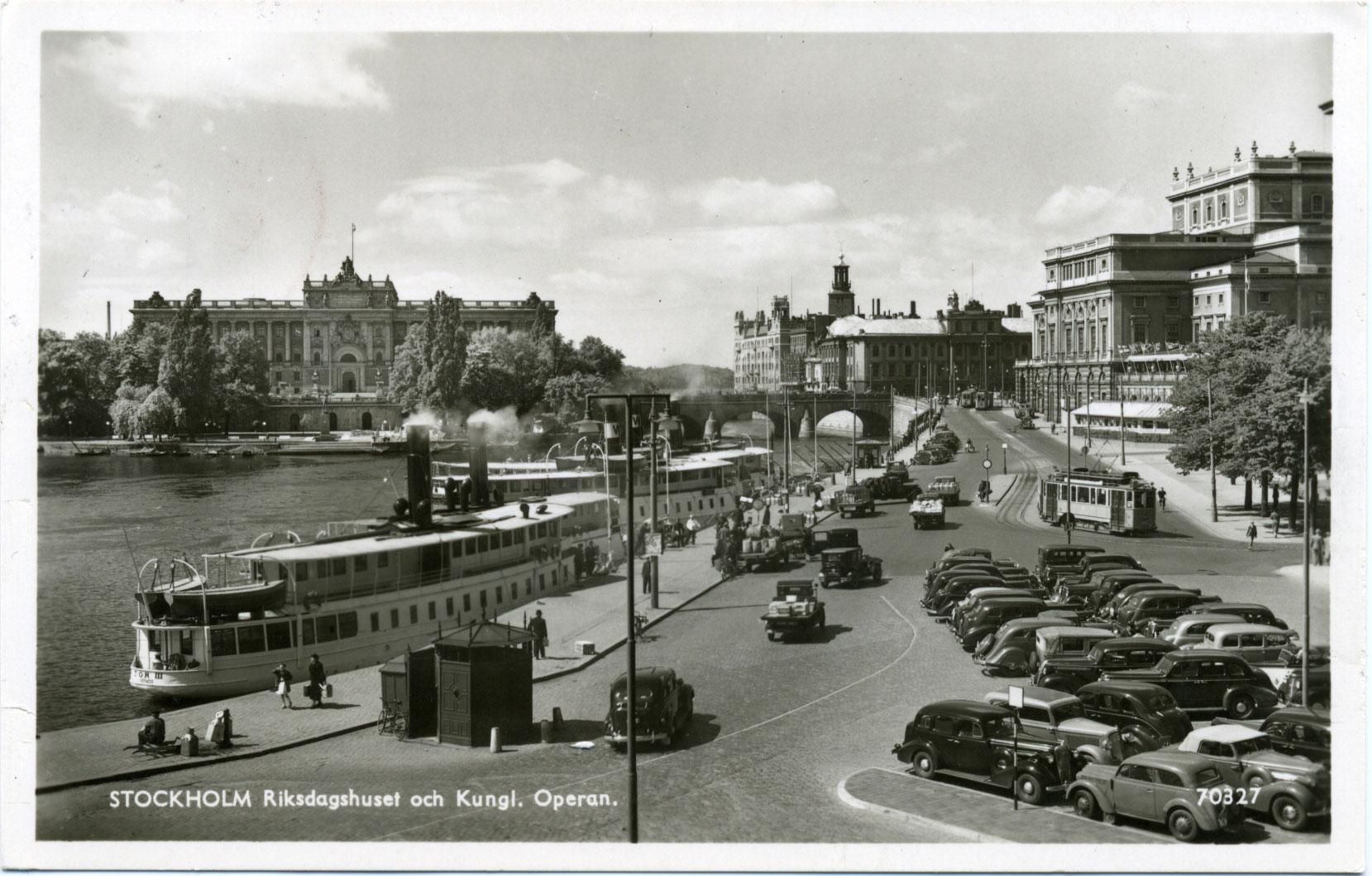 Operan och riksdagshuset